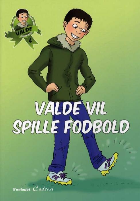 Image of Valde vil spille fodbold (Bog)