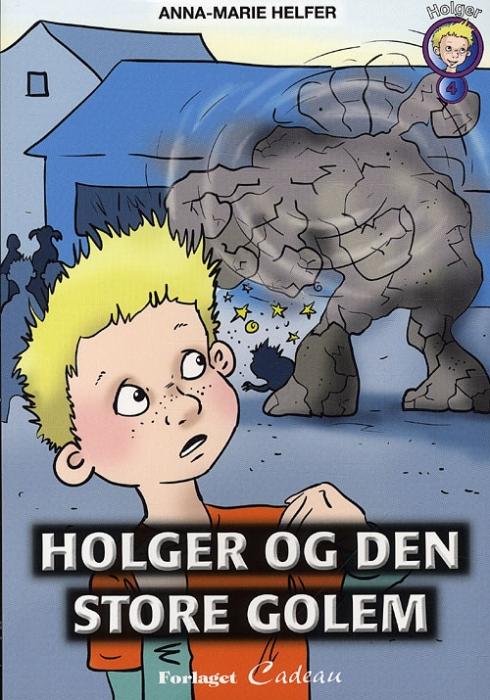 Image of Holger og den store golem (Bog)
