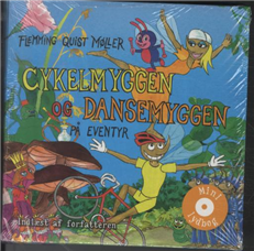 Image of   Cykelmyggen og dansemyggen på eventyr (Bog)