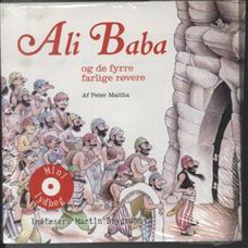 Image of   Ali Baba og de fyrre, farlige røvere (Bog)