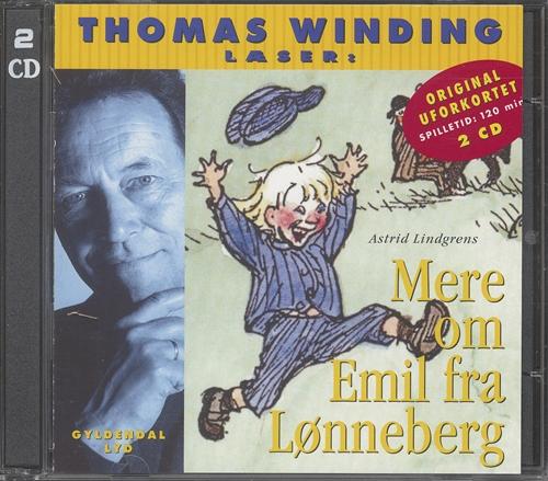 Image of   Thomas Winding læser Mere om Emil fra Lønneberg cd - komplet (Lydbog)