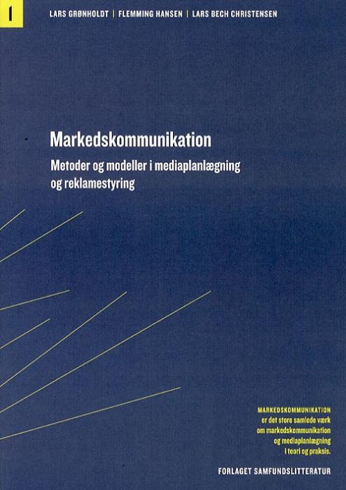 Markedskommunikation Metoder og modeller i mediaplanlægning og reklamestyring