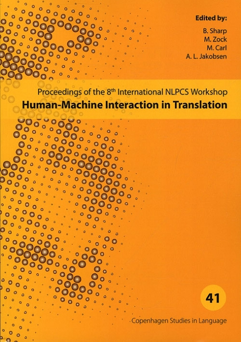 Image of Human-Machine Interaction in Translation - CSL 41 (Bog)