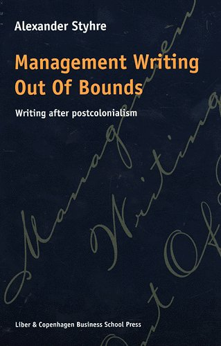 Image of Management writing out of bounds (Bog)