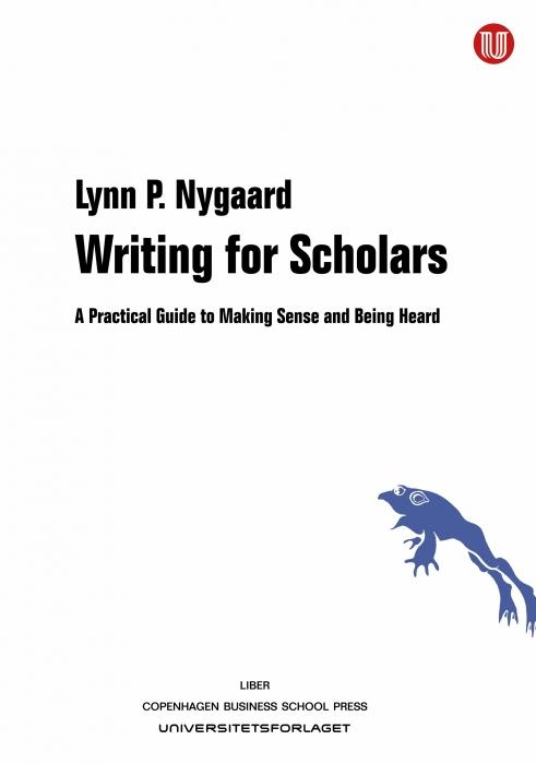 Writing for Scholars (Bog)