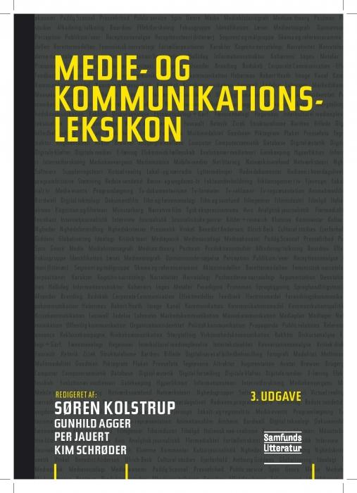 Medie- og kommunikationsleksikon (Bog)
