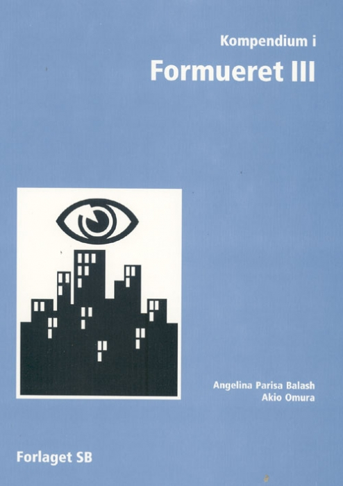 Image of Kompendium i Formueret III (Bog)