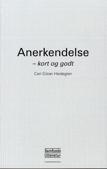 Image of   Anerkendelse (Bog)
