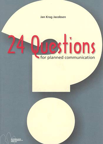Image of   24 questions for planned communication (Bog)