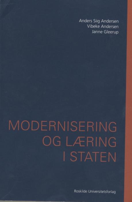 Image of Modernisering og læring i staten (Bog)