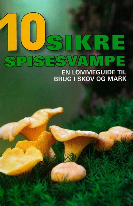 Image of   10 sikre spisesvampe (Bog)