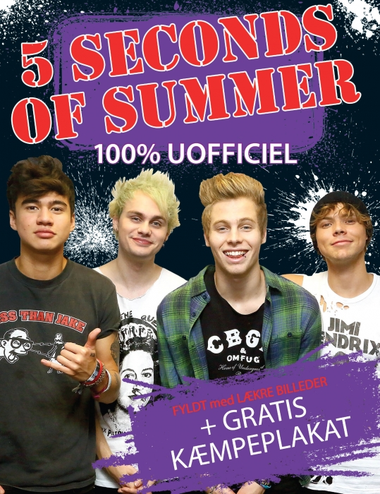Image of   5 Seconds Of Summer Poster Bog (Bog)
