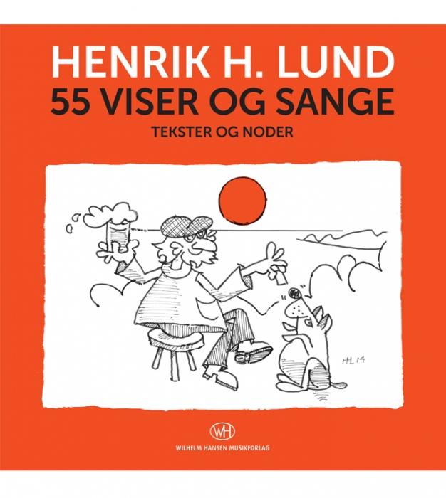 Image of   55 viser og sange (Bog)
