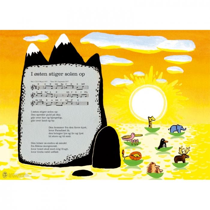 Image of I østen stiger solen op (Bog)