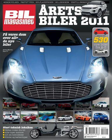 Image of   Årets Biler 2011 (Bog)