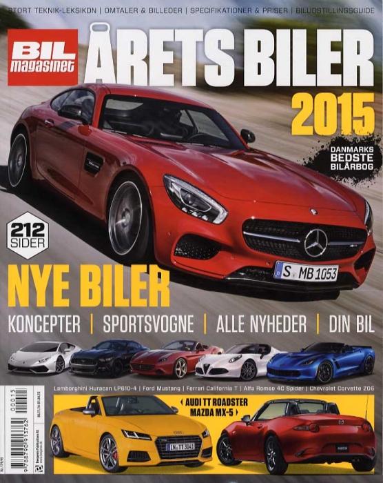 Image of   Årets Biler 2015 (Bog)