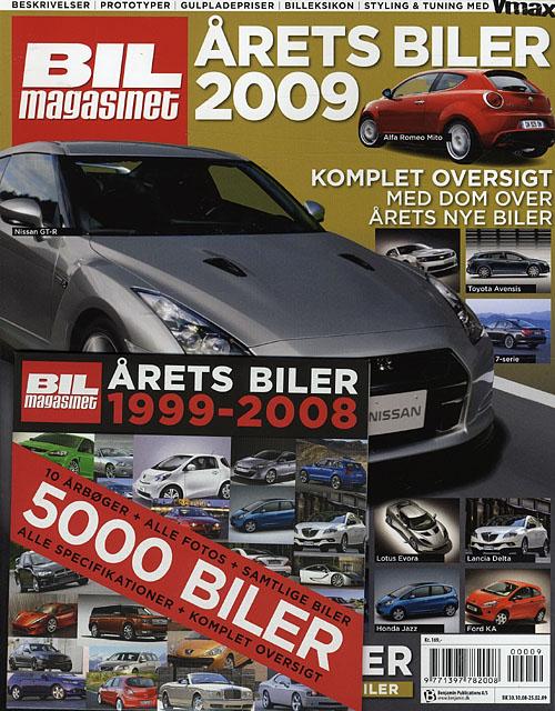 Image of   Årets biler (Bog)