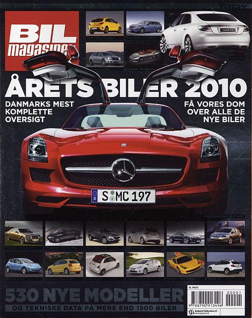 Image of   Årets biler 2010 (Bog)