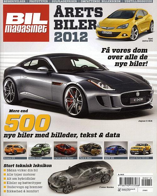 Image of   Årets Biler 2012 (Bog)