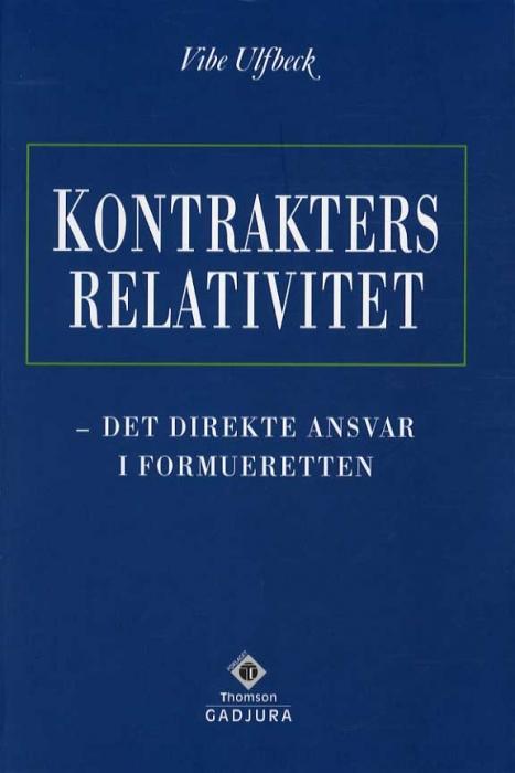 Kontrakters relativitet (Bog)