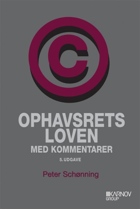 Ophavsretsloven med kommentarer (Bog)