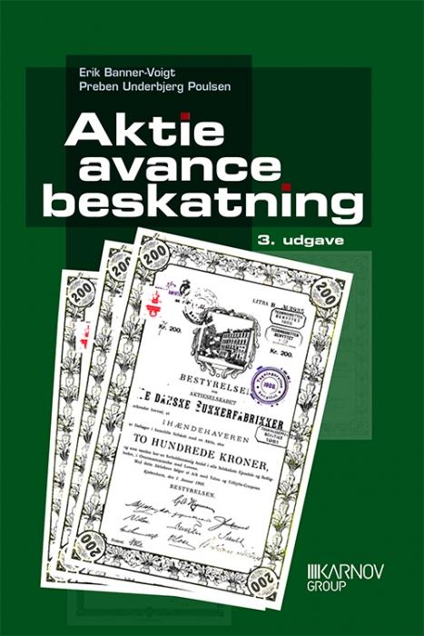 Image of   Aktieavancebeskatning (Bog)