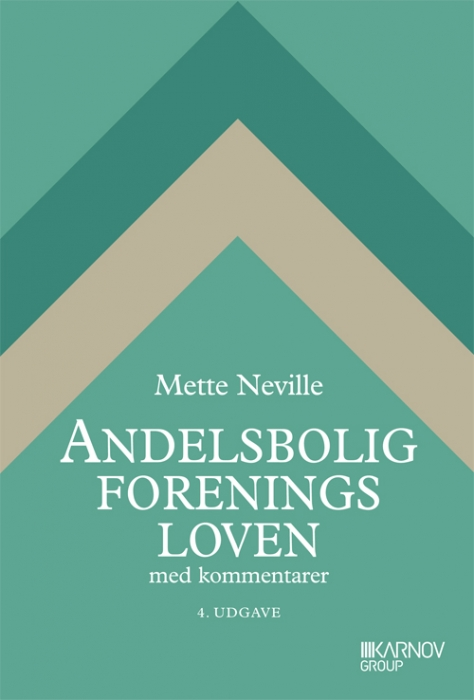 Image of   Andelsboligforeningsloven (Bog)