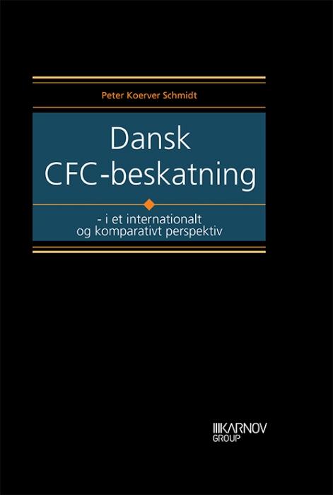 Image of   Dansk CFC-beskatning (Bog)