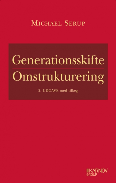 Image of   Generationsskifte - Omstrukturering (Bog)