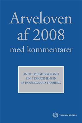 Image of   Arveloven af 2008 med kommentarer (Bog)