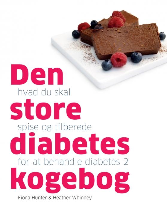 Den store diabetes kogebog (Bog)
