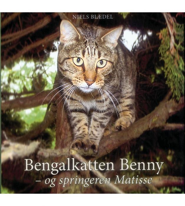 Image of   Bengalkatten Benny - og springeren Matisse (Bog)