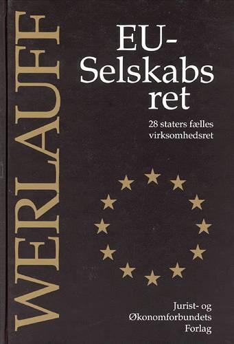 Image of   EU-Selskabsret (Bog)