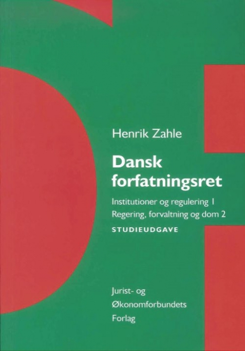 Dansk Forfatningsret - studieudgave (Bog)