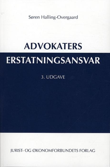 Image of   Advokaters erstatningsansvar (Bog)