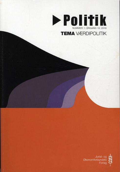 Politik nr. 1-2010 (Bog)