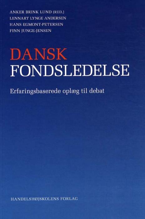Image of Dansk fondsledelse (Bog)