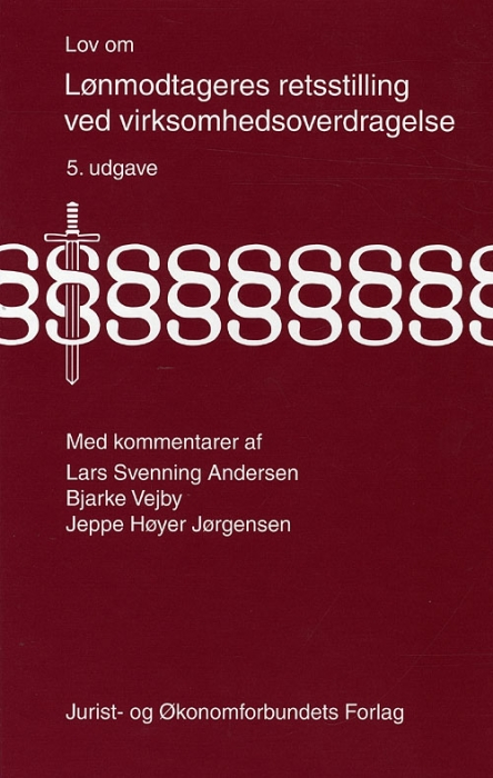 Image of Lov om lønmodtageres retsstilling (Bog)