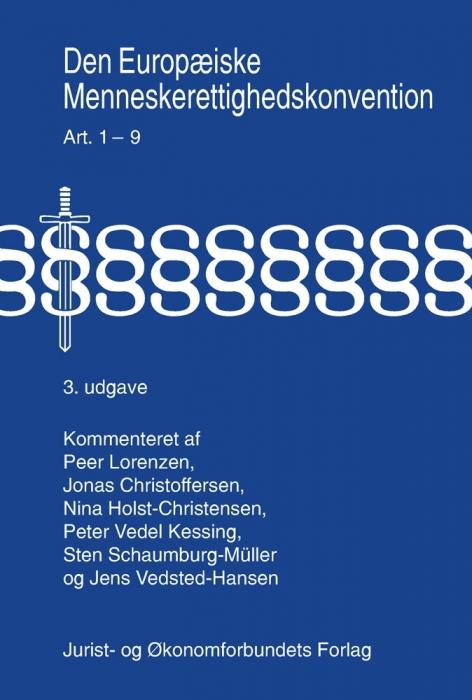 Image of   Den Europæiske Menneskerettighedskonvention Bind 1-2 (Bog)