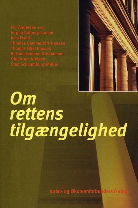 Image of Om Rettens tilgængelighed (Bog)