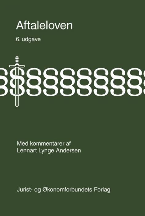 Image of   Aftaleloven med kommentarer (Bog)