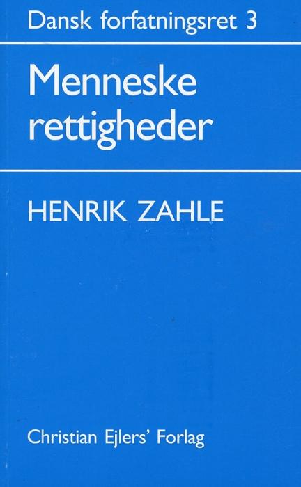 Dansk Forfatningsret 3 (Bog)