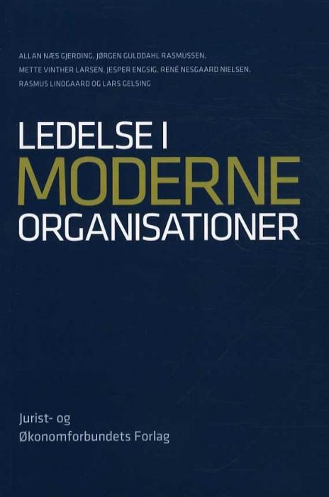 Image of Ledelse i moderne organisationer (Bog)