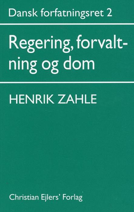 Dansk Forfatningsret 2 (Bog)