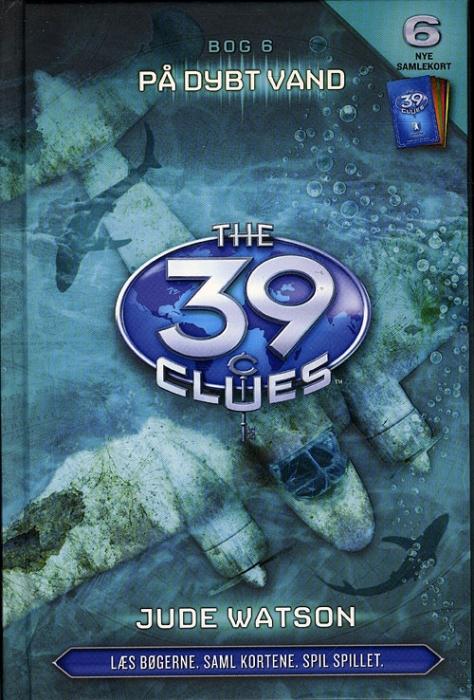 Image of   39 Clues 6 - På dybt vand (Bog)
