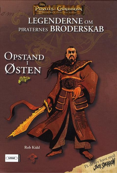 Image of   Legenderne om Piraternes Broderskab 2 - Opstand i Østen (Bog)
