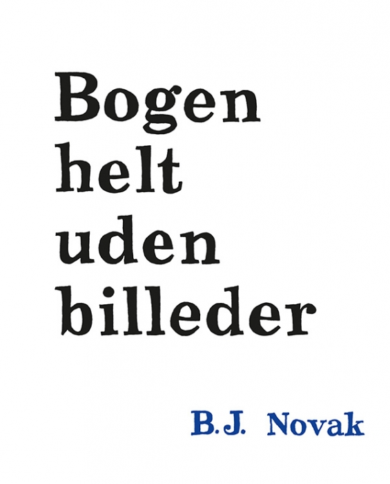 Image of Bogen helt uden billeder (Bog)