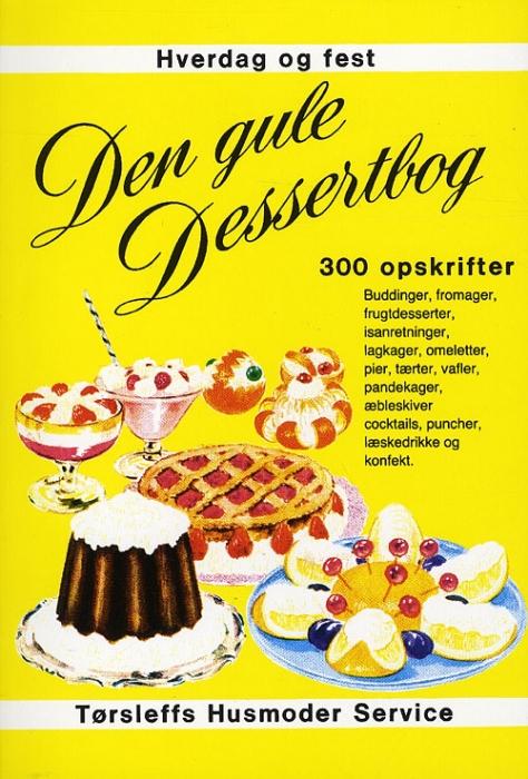 Den gule dessertbog (Bog)