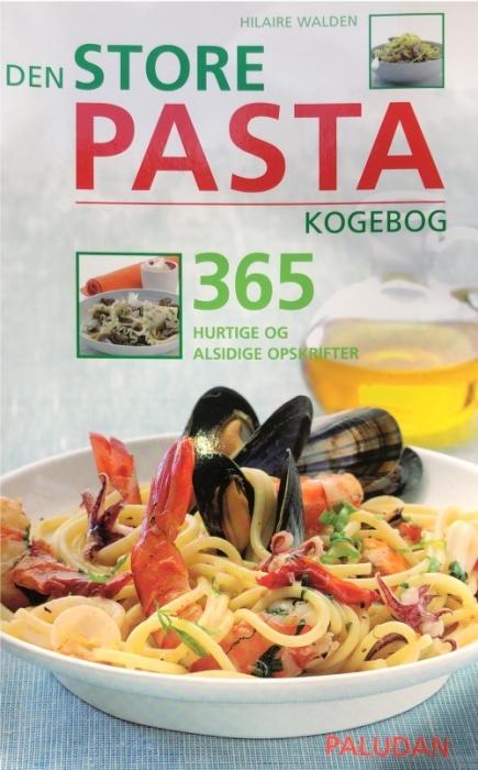 Den store pasta kogebog (Bog)