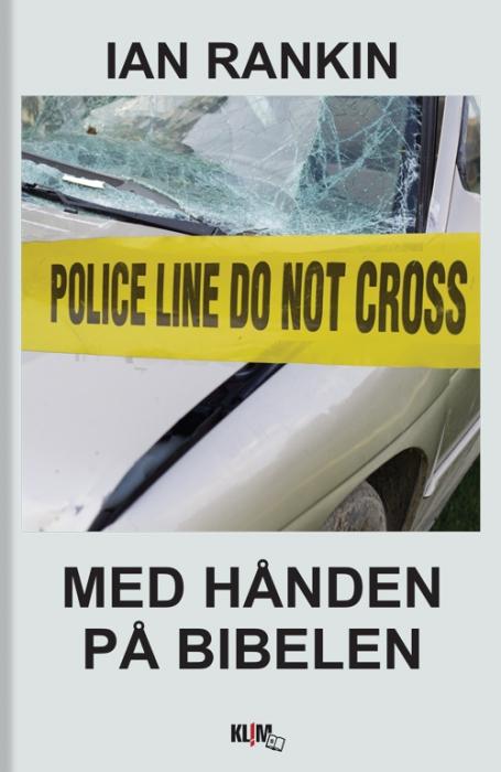 Image of   Med hånden på Biblen (Storskrift) (Bog)
